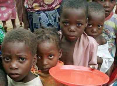Famine hunger spanish english